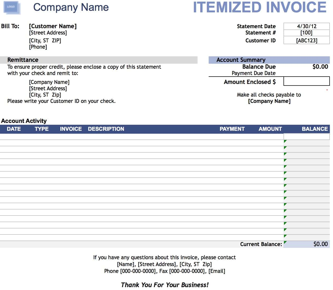 Invoice Home And Invoice Maker Free