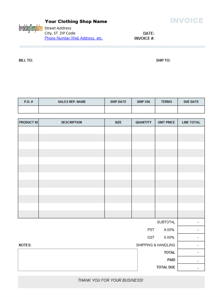 Bakery invoice template excel and free cake invoice template