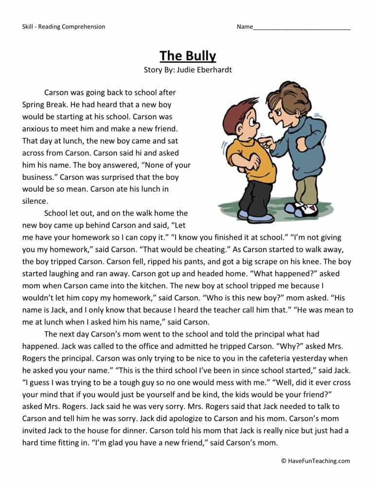 Reading comprehension worksheets for 3rd grade and free printable reading sheets for 2nd graders