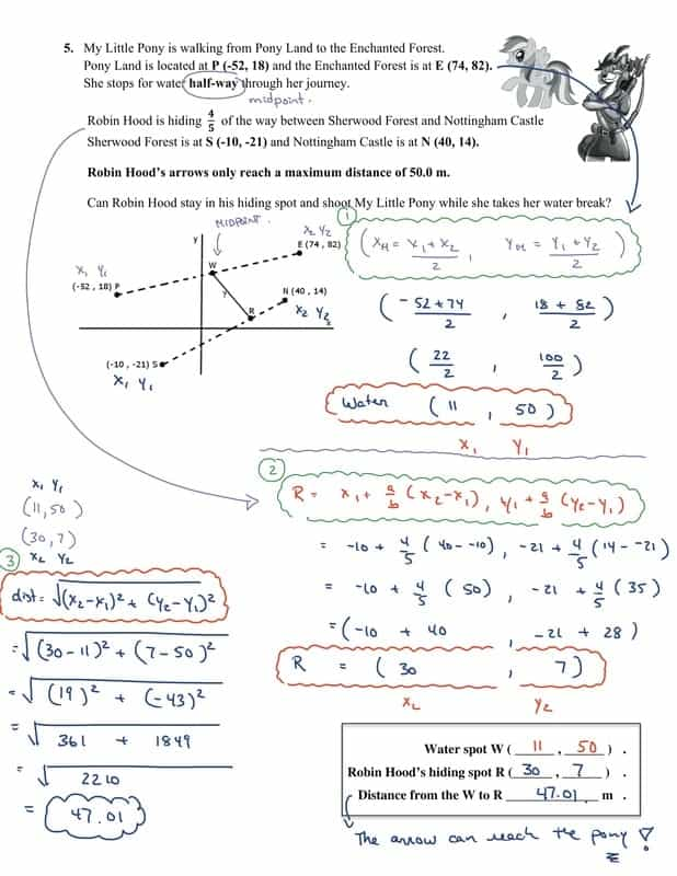Analytical Geometry Grade 10 Worksheets Pdf And Analytic Geometry Pdf