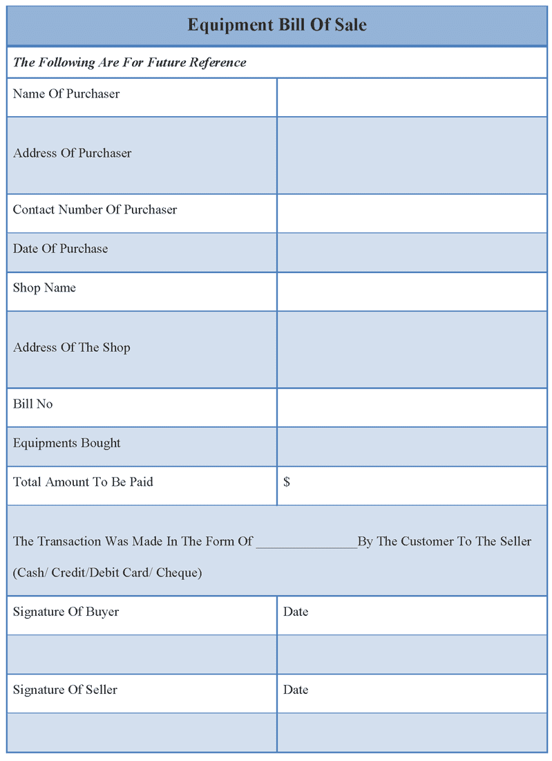 Bill of sale pa example and bill of sale example for car