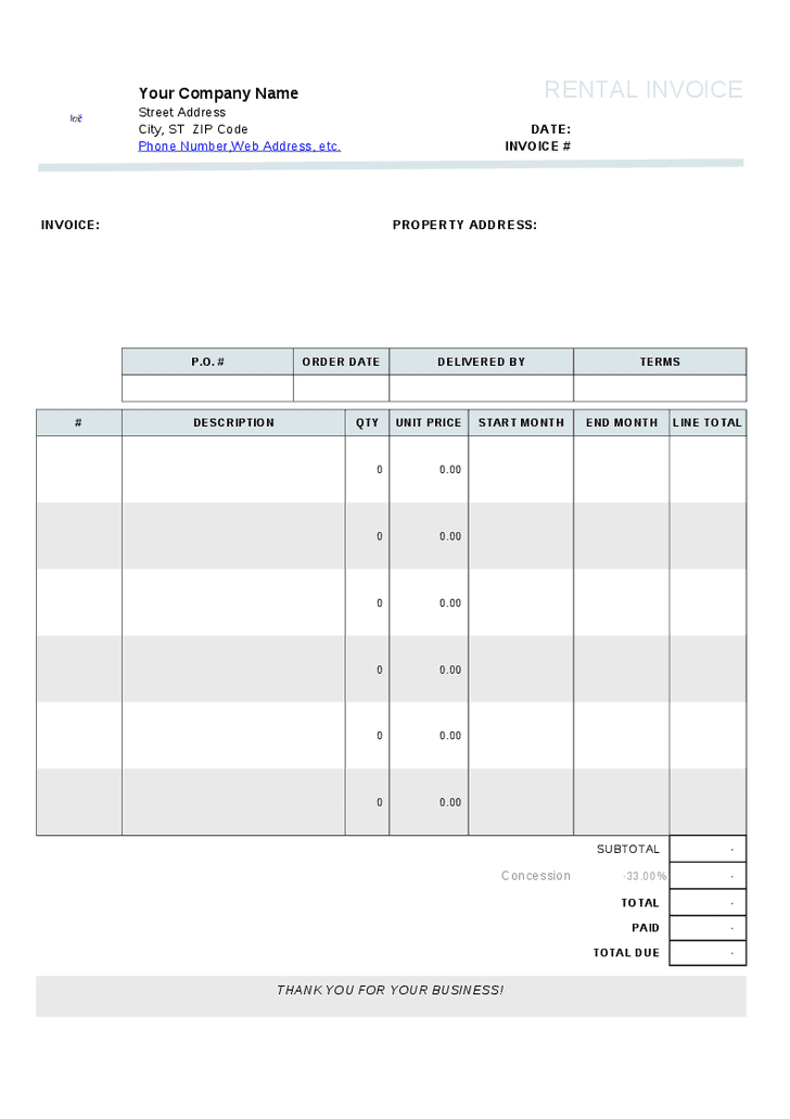 Rent Receipt Template Word Document And Rent Receipt Book Template Free