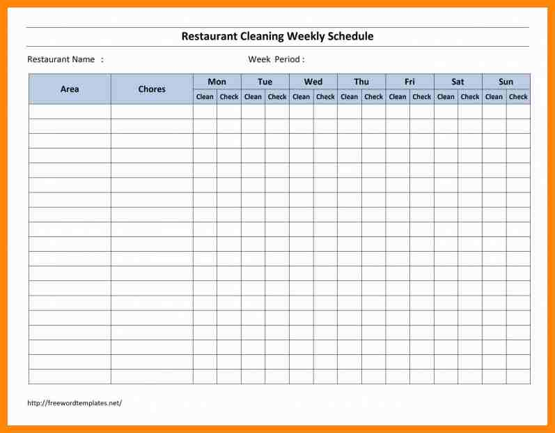 Employee Schedule Template And Monthly Schedule Template Excel