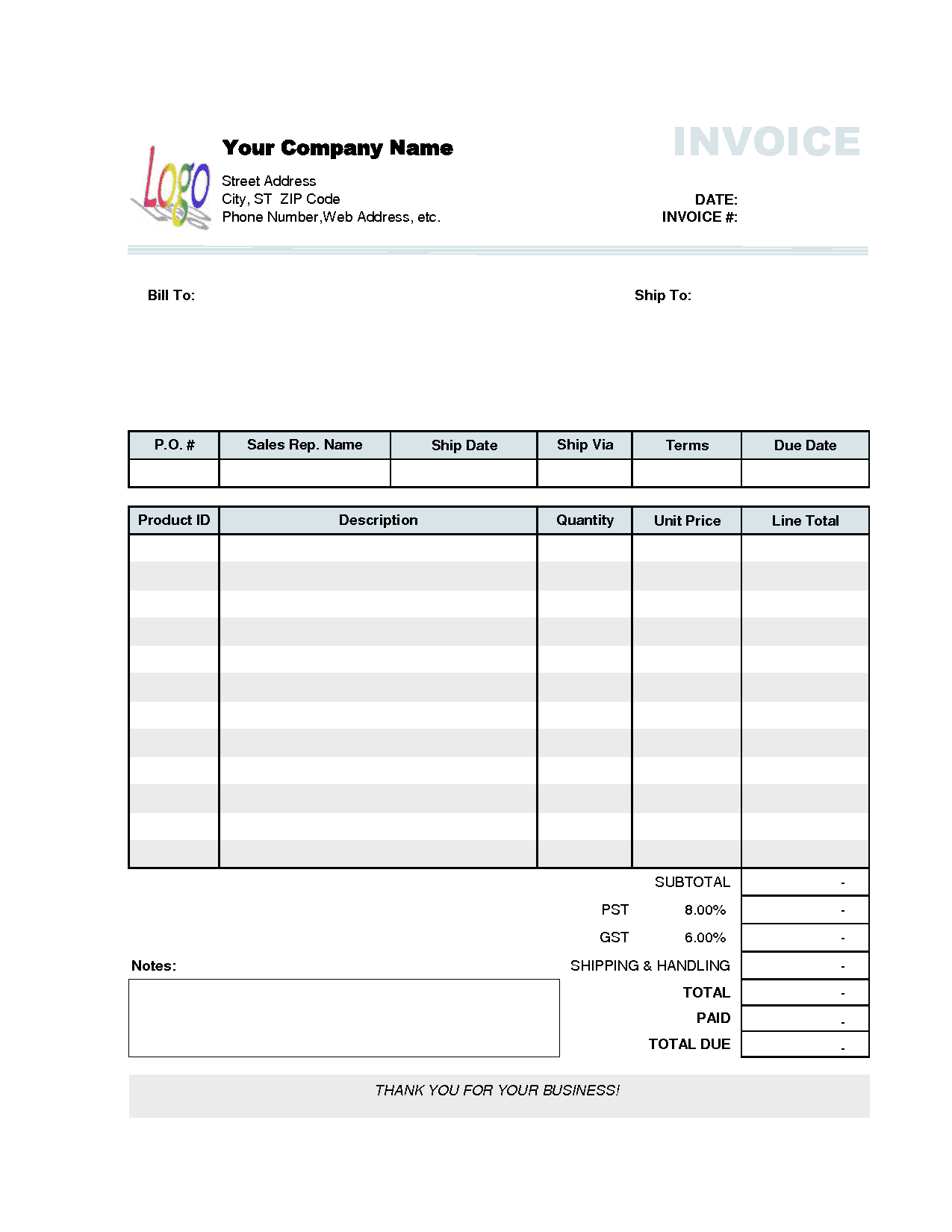 Free Excel Template For Staff Scheduling And Simple Invoice Template