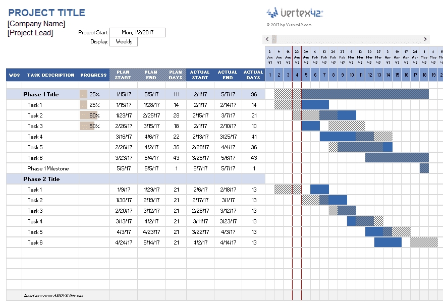 Project Tracking Excel Template Xls And Multiple Project Tracking Template In Excel