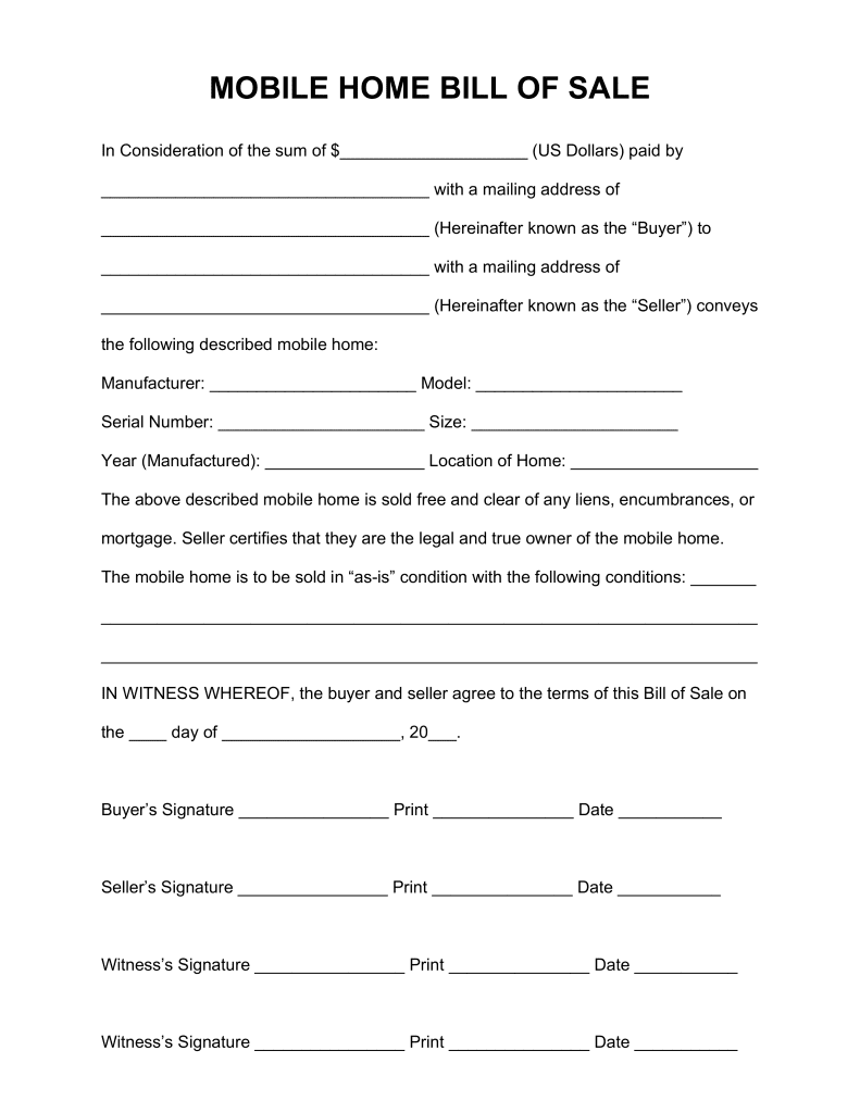 Bill Of Sale Form Va Dmv And Bill Of Sale Template Pdf