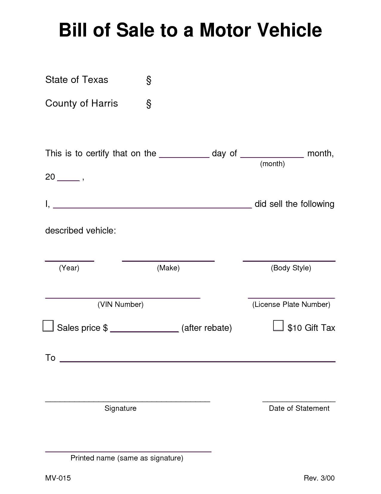 Bill Of Sale Template For Car Minnesota And Bill Of Sale Template For Car Free