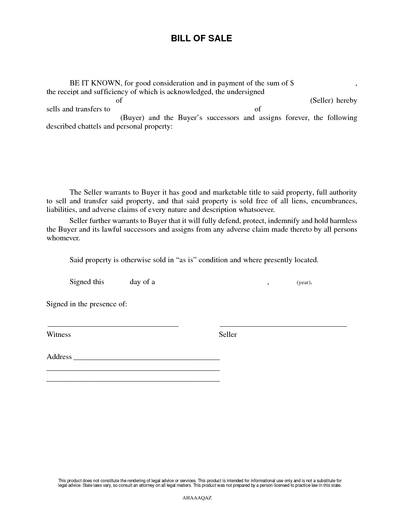 Bill Of Sale Texas Template And Bill Of Sale Form Texas Tarrant County