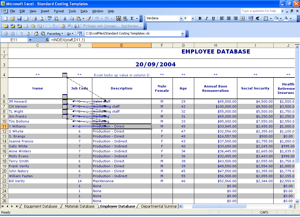 Employee Database In Excel Template Free Download And Access Crm Database Template