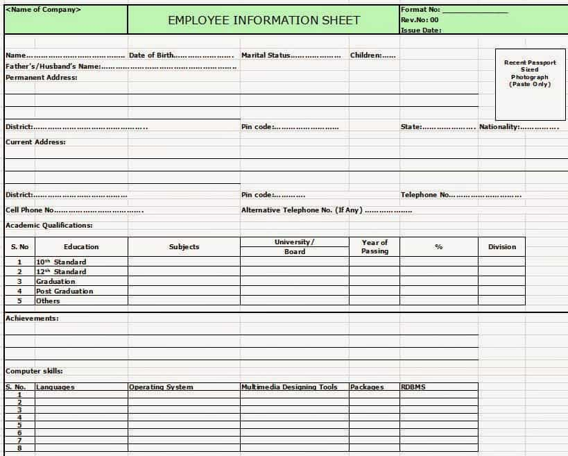 Free Employee Training Database Template Excel And Ms Access Sample Database Templates