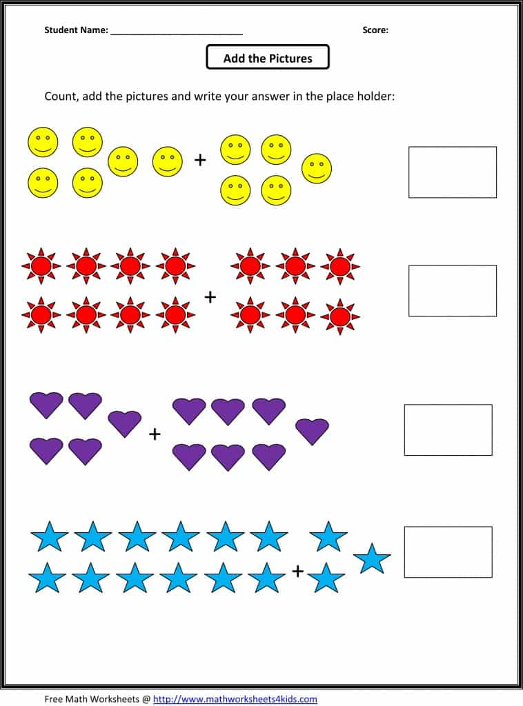 Homeschool Worksheets Pre K And Free Homeschool Printable Worksheets
