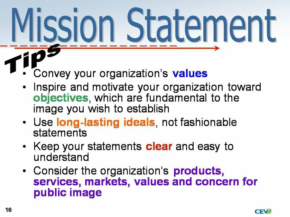 Church Small Group Mission Statements And Church Mission Statement Generator