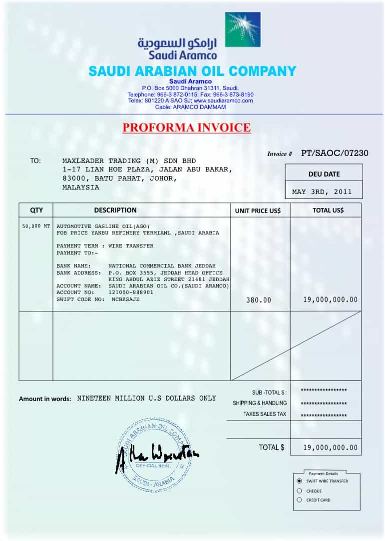 Free Invoice Template And Customizable Invoice Template