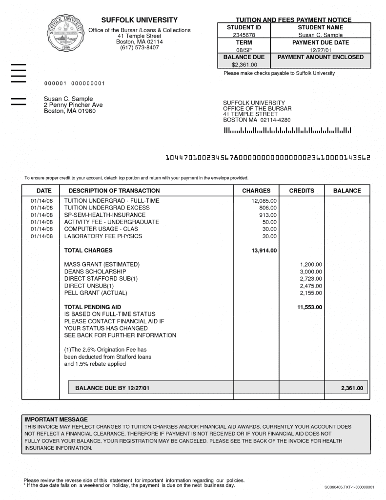 Invoice For Legal Fees And Attorney Billing Template
