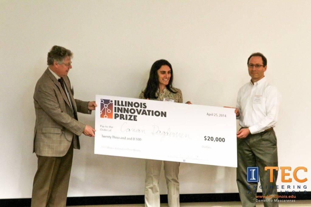 Canan Dağdeviren Illinois İnovasyon Ödülü
