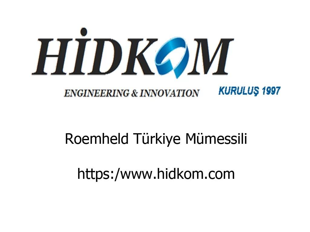 Roemheld Türkiye - Römheld Türkiye Satış Mümessili
