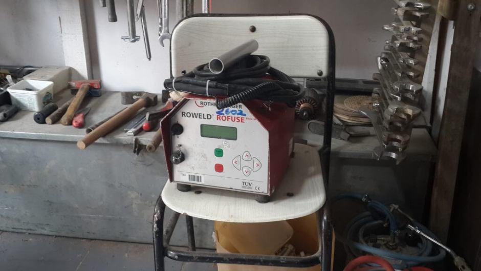 Elektrofüzyon Kaynak Makinesi