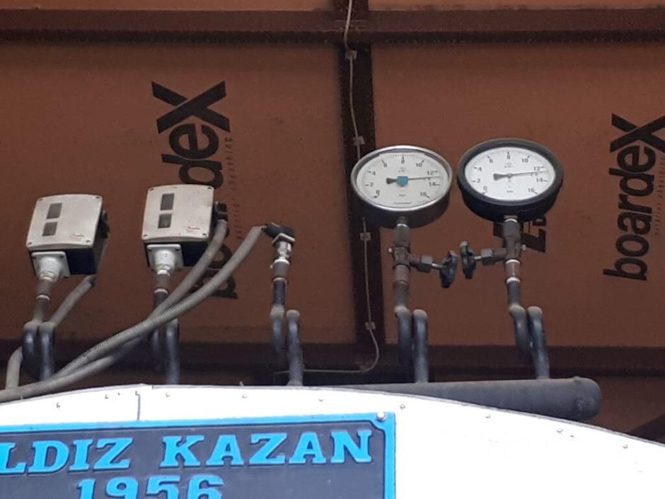 Buhar Kazanı Test Basıncı Periyodik Kontrol Muayene