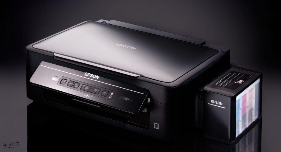 zdjęcie produktowe drukarki epson