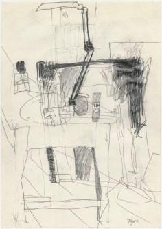 Lars Pryds: Opbrud # 16, 1987.