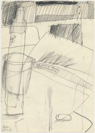 Lars Pryds: Opbrud # 18, 1987.