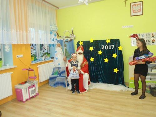 Przedszkole Radgoszcz - wizyta św. Mikołaja11