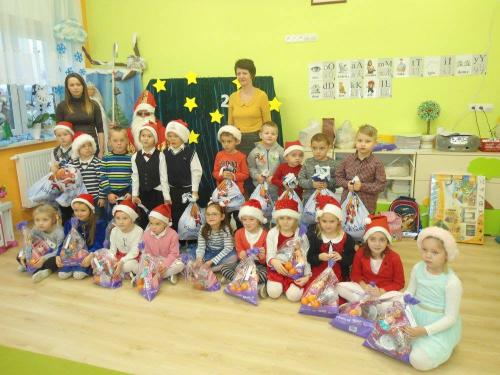 Przedszkole Radgoszcz - wizyta św. Mikołaja12