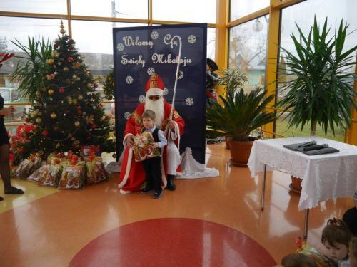 Przedszkole Radgoszcz - wizyta św. Mikołaja23