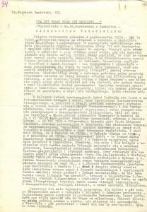 Ks. Wojciech Danielski, Wspomnienia, Teczka 3, Poz. 094, 01-08