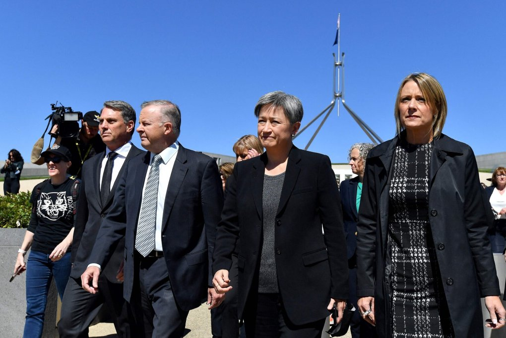 A Sea of White Faces in Australia's 'Party of Multiculturalism'