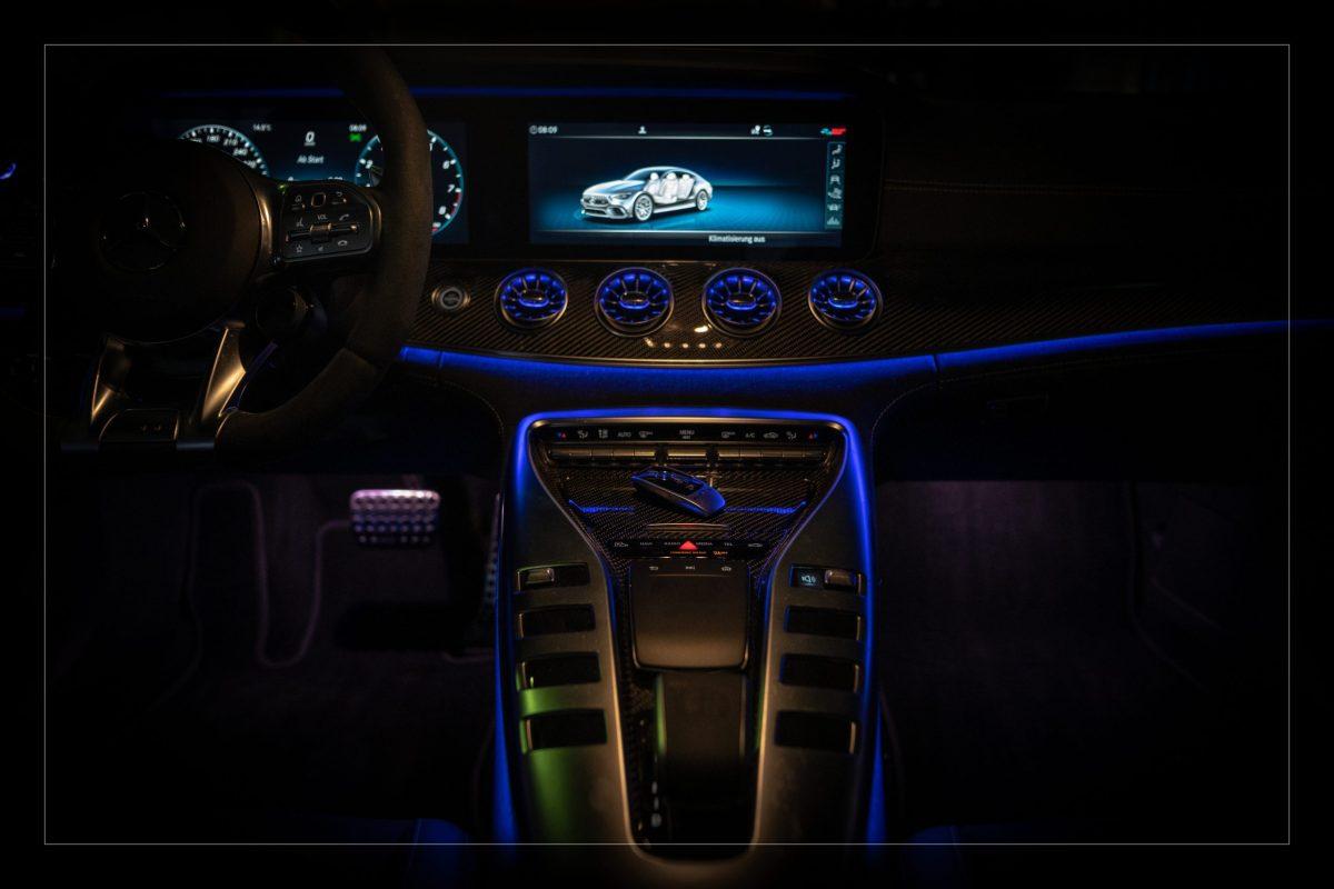 PS Fahrzeugtechnik AMG GT Innenraum