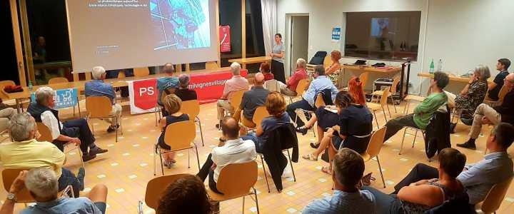 Succès de la conférence organisée par les socialistes de Milvignes