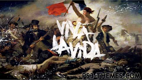 Ps3 Animated Wallpaper Ps3 Themes 187 Coldplay Viva La Vida