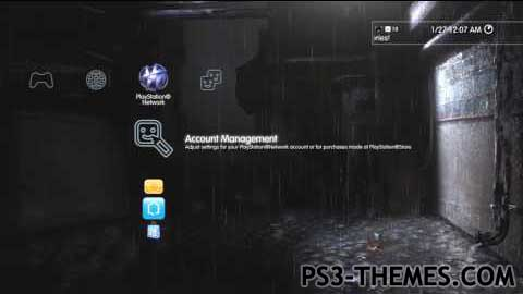 ps3 themes heavy rain