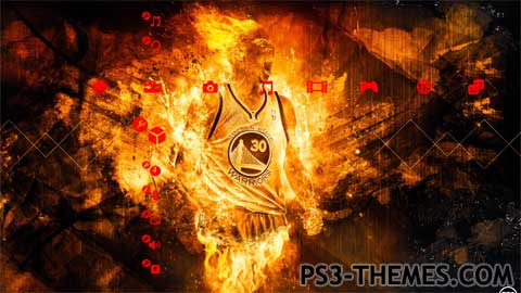 Ps3 Animated Wallpaper Ps3 Themes 187 Stephen Curry Version 3