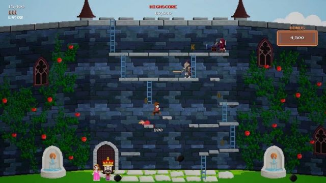 Castle Kong Review - 2