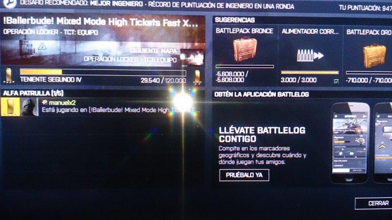 Battlelog en tu movil : Battlefield - PS4 Foros