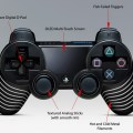 New playstation 4 controller with touch screen