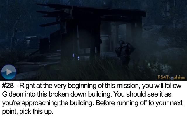 Call of Duty Advanced Warfare Collectible intel 28
