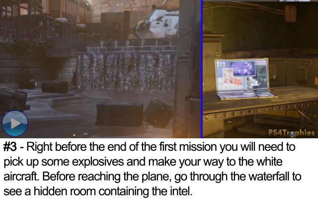 Call of Duty Advanced Warfare Collectible intel 3