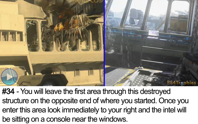 Call of Duty Advanced Warfare Collectible intel 34