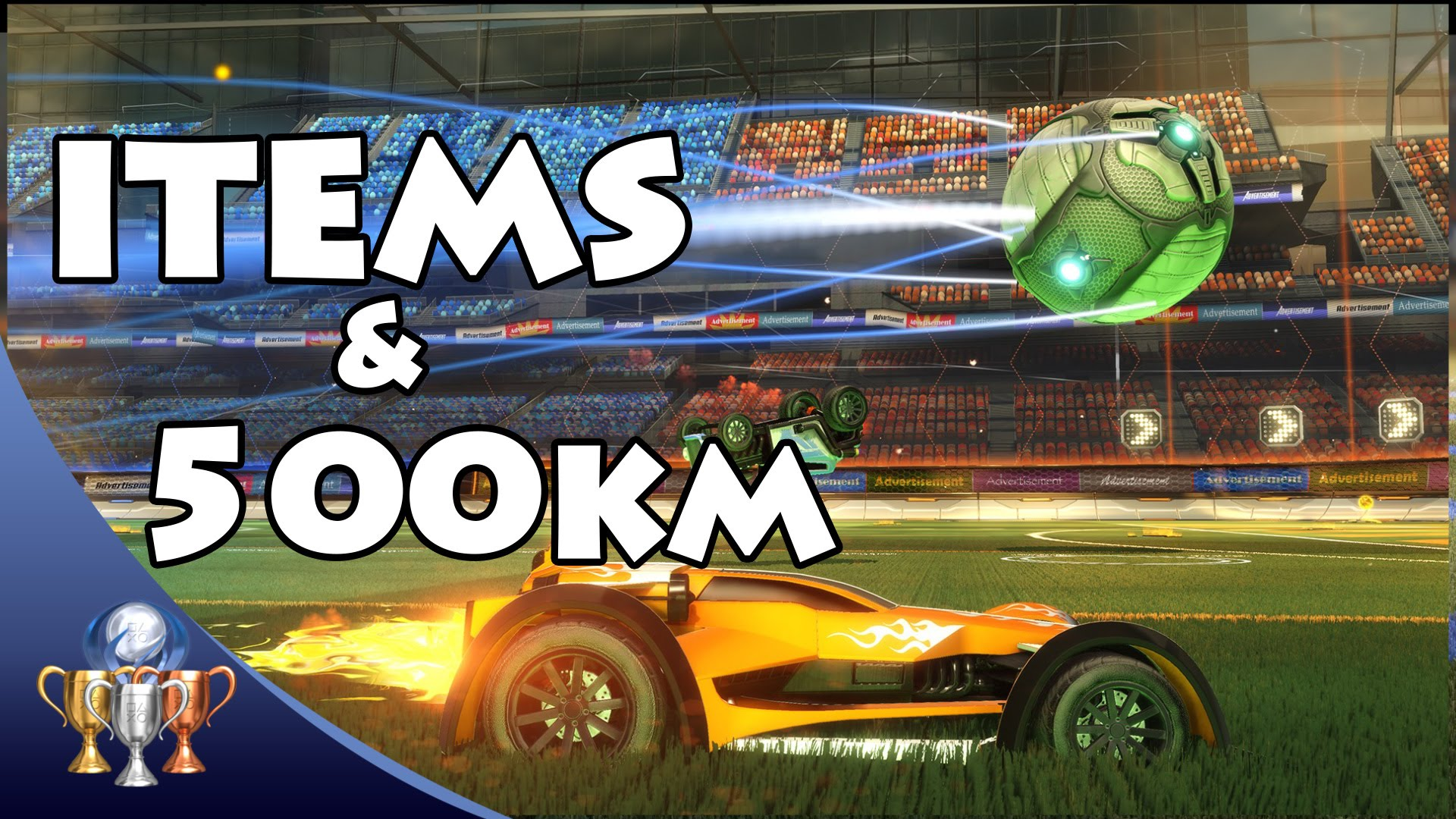 Rocket League All 165 Items Stocked And Driving 500km Far