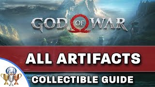 God of War – All 45 Artifacts Collectibles Locations – Curator