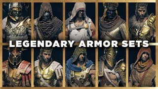 Assassin S Creed Odyssey All Legendary Armor Sets Showcase