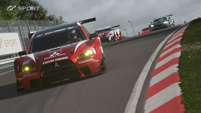 lancer evo x | ps4wallpapers