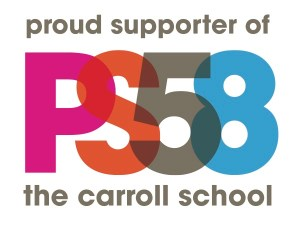 Proud Supporter of PS 58 the Carroll School tag