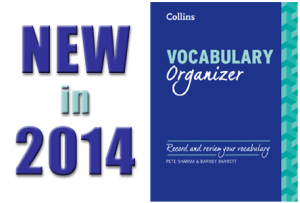Vocabulary Organizer - New in 2014