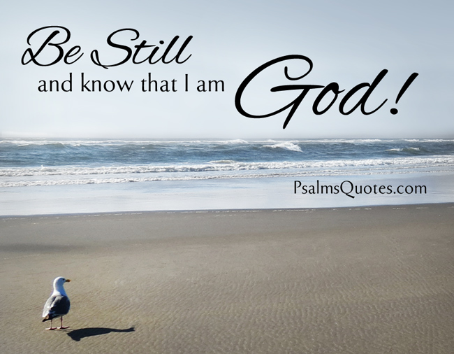 psalm quote psalm 46