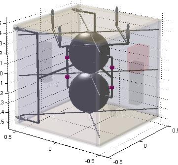 CAD module showing propulsion hardware