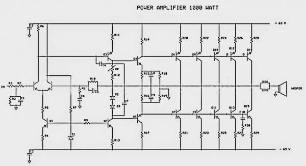 Power supplies are equal in importance to amplifier